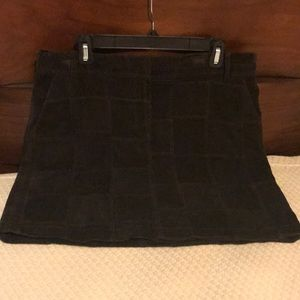 Loft Patchwork Mini Skirt